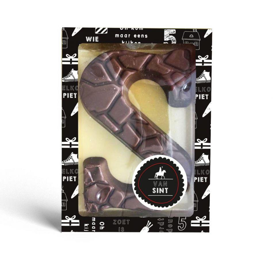 Sint letter S melkchocolade UTZ 175 gram