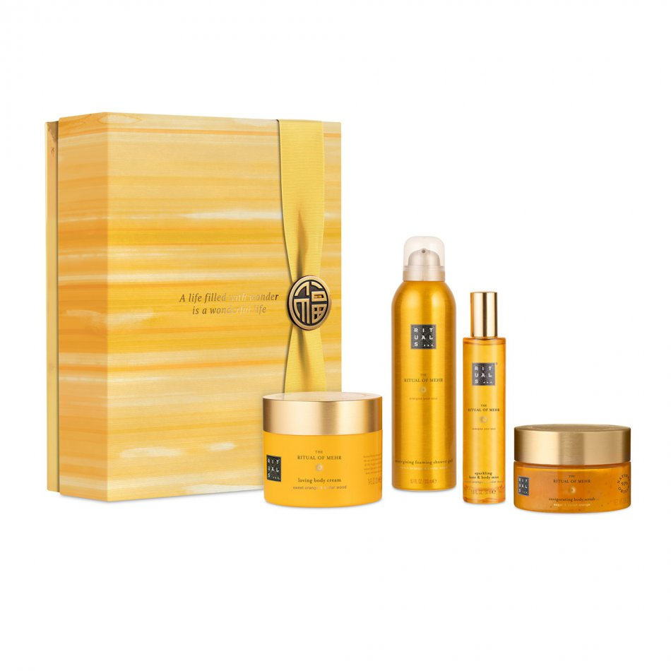 The Ritual of Mehr Energising Collection Large
